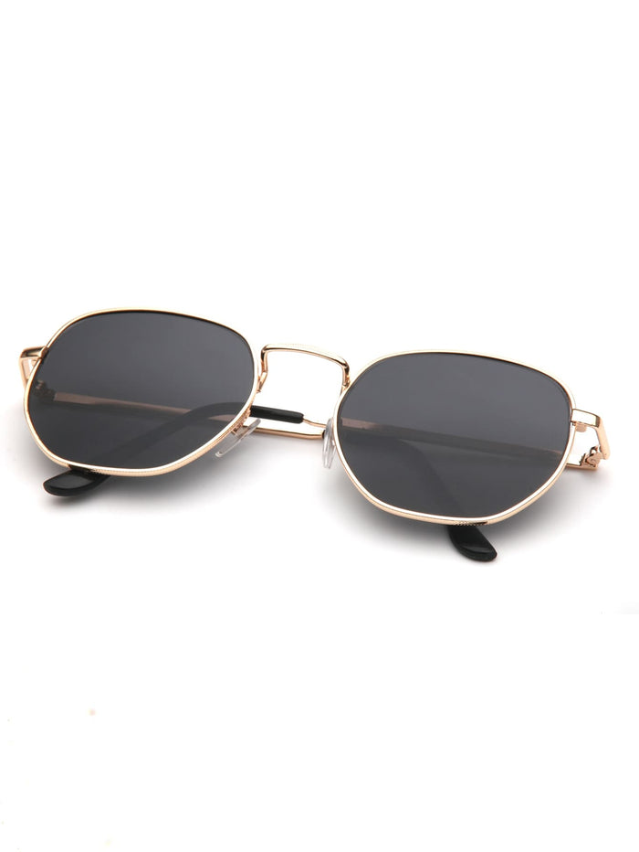 Driving Sunglasses - Men Metal Frame Sunglasses