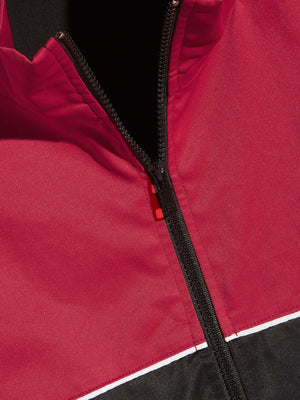 Men's Track Jackets - Two Tone Zip Front Jacket