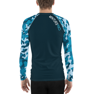 Men's Venture Pro Camo Performance Rash Guard UPF 40+