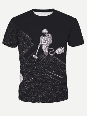 T-Shirts For Men - Astronaut Print Tee