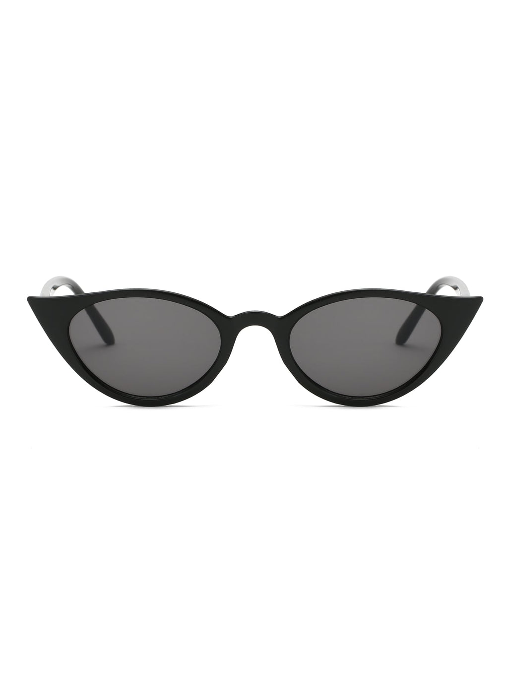 Sunglasses For Women - Skinny Frame Cat Eye Sunglasses