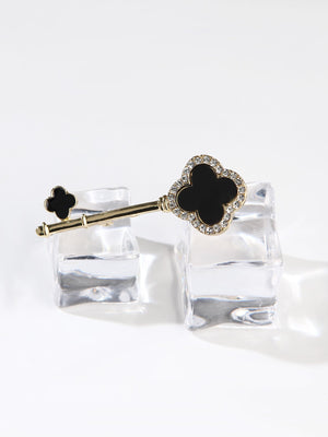 Womens Brooches - Key Shaped Brooch