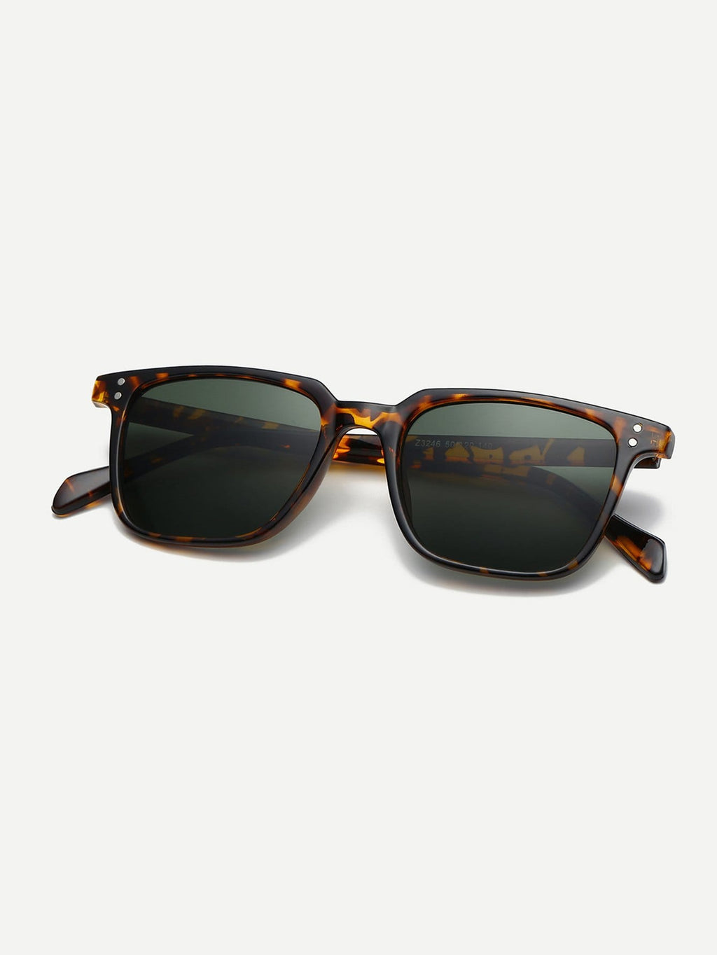 Men's Sunglasses - Leopard Pattern Frame Sunglasses