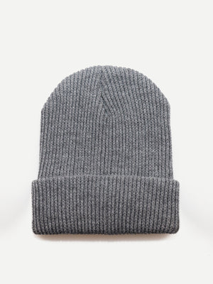 Men's Hat - Plain Beanie Hat