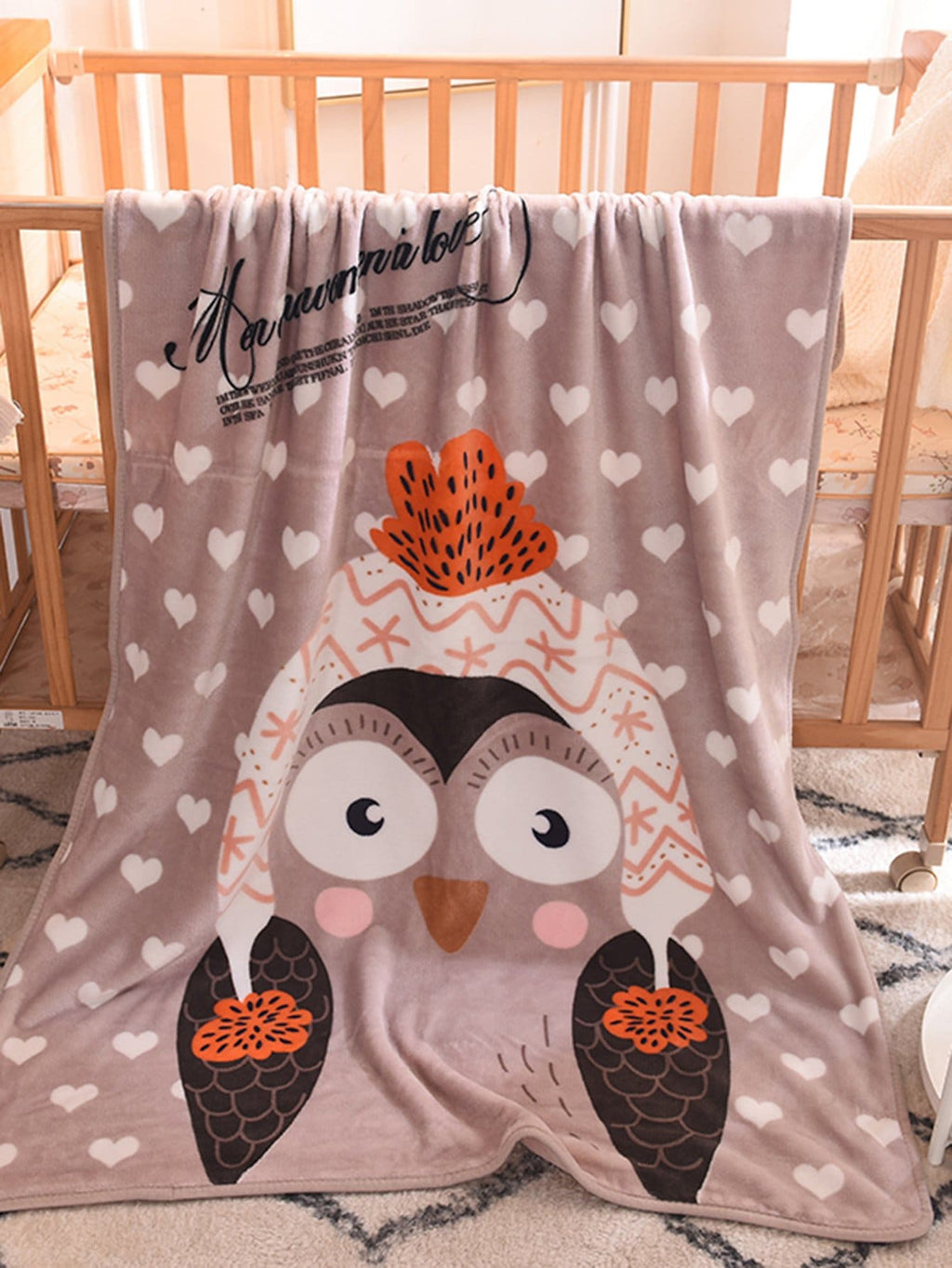 Kids Blankets - Penguin Print Blanket 1 PC