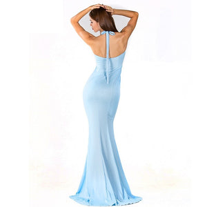 Light Blue Evening Gown