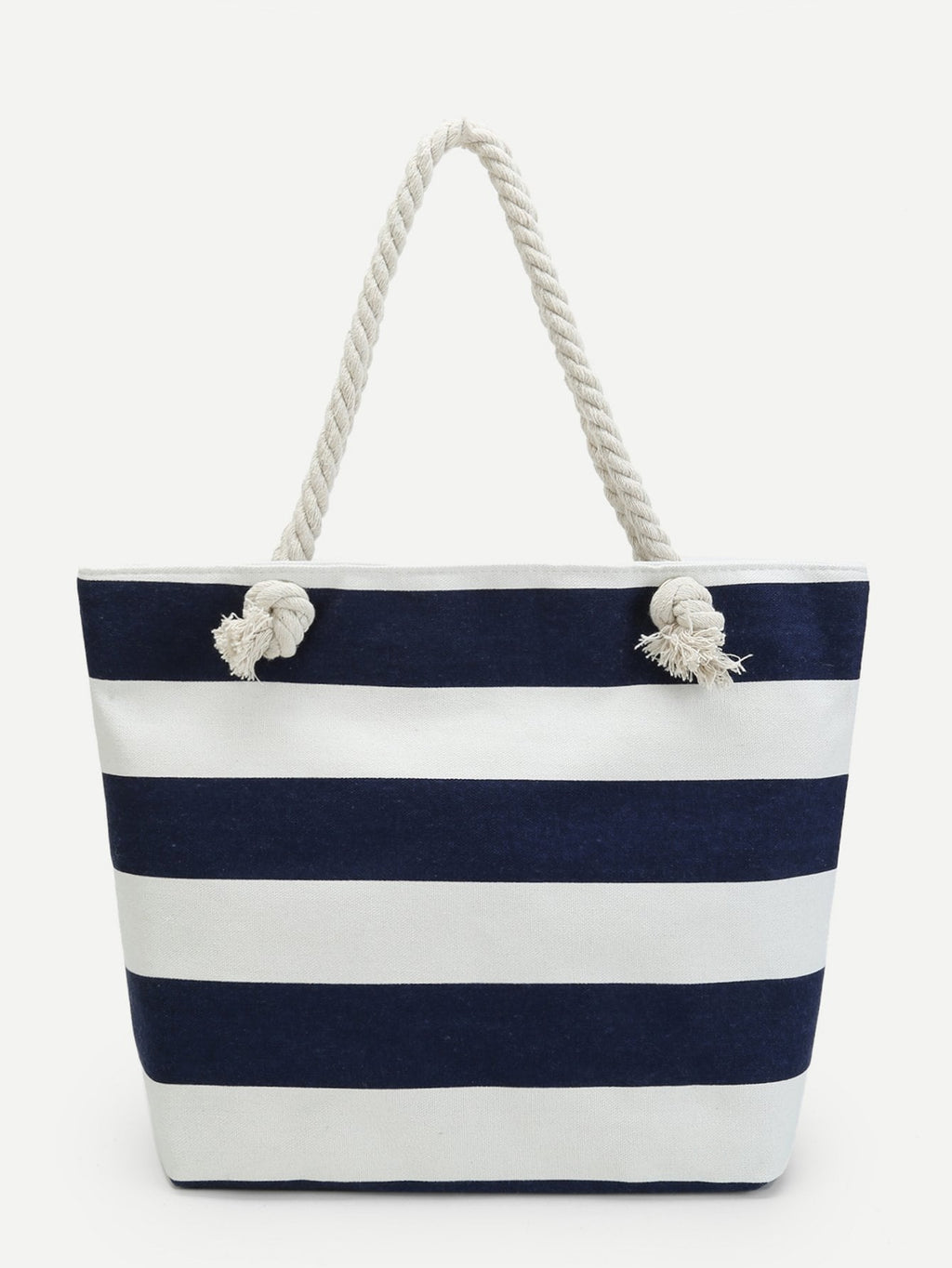 Work Bags - Sailor Striped Tote Bag
