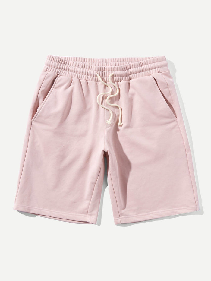Men's Shorts - Drawstring Waist Pocket Shorts