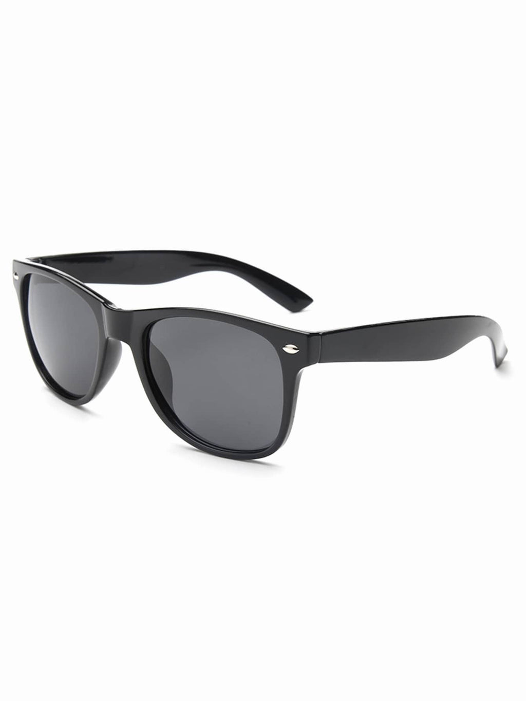 Sports Sunglasses - Men Basic Metal Detail Sunglasses