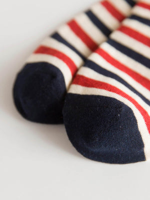 Funky Socks - Men Striped & Star Socks 5pairs