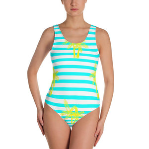 FYC Swim One-Piece Striped Swimsuit