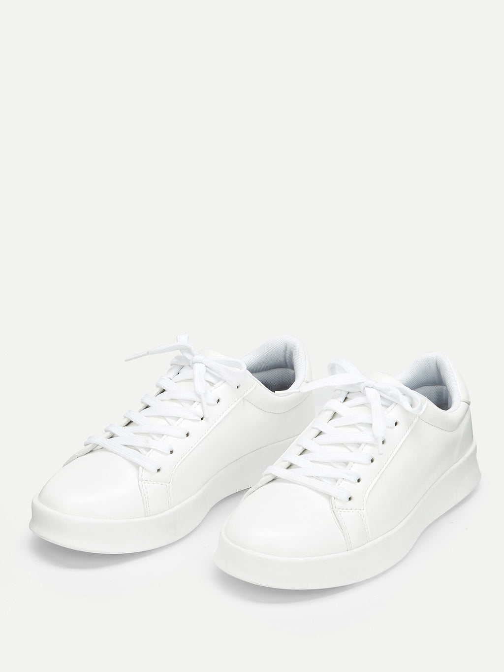 Running Shoes For Men - Solid Low Top Sneakers