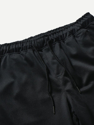 Men's Activewear - Drawstring Waist Pants
