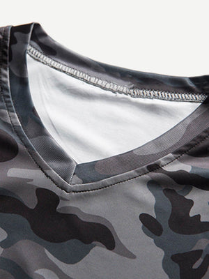 T-Shirts For Men - Solider Camo Tee