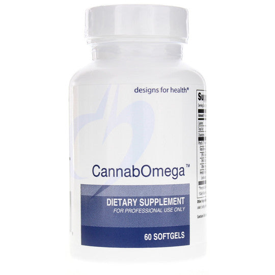 Designs For Health CannabOmega 60 Softgels