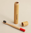 Bamboo Toothbrush Travel Holder