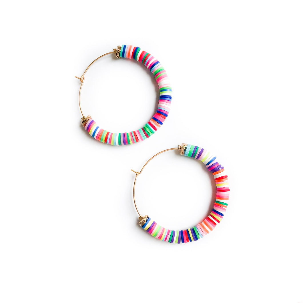 Multi Banded Hoops