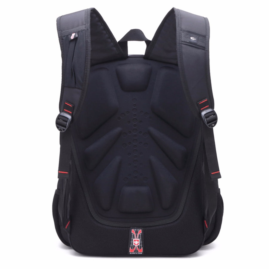 Multi-Compartment USB-Charging Backpack