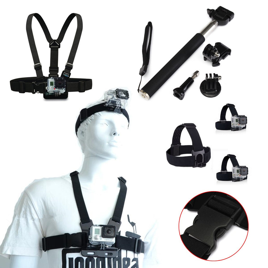 8 in 1 Camera / GoPro Accessories Kit