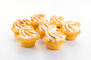 (SW35) 36PC MINI LEMON-MERINGUE TARTS