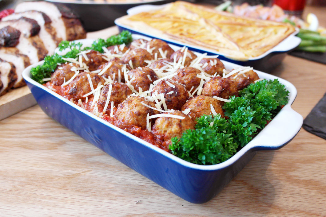(PP28) 30PC HOMEMADE MEATBALLS (CONTAINS BEEF & CHICKEN)