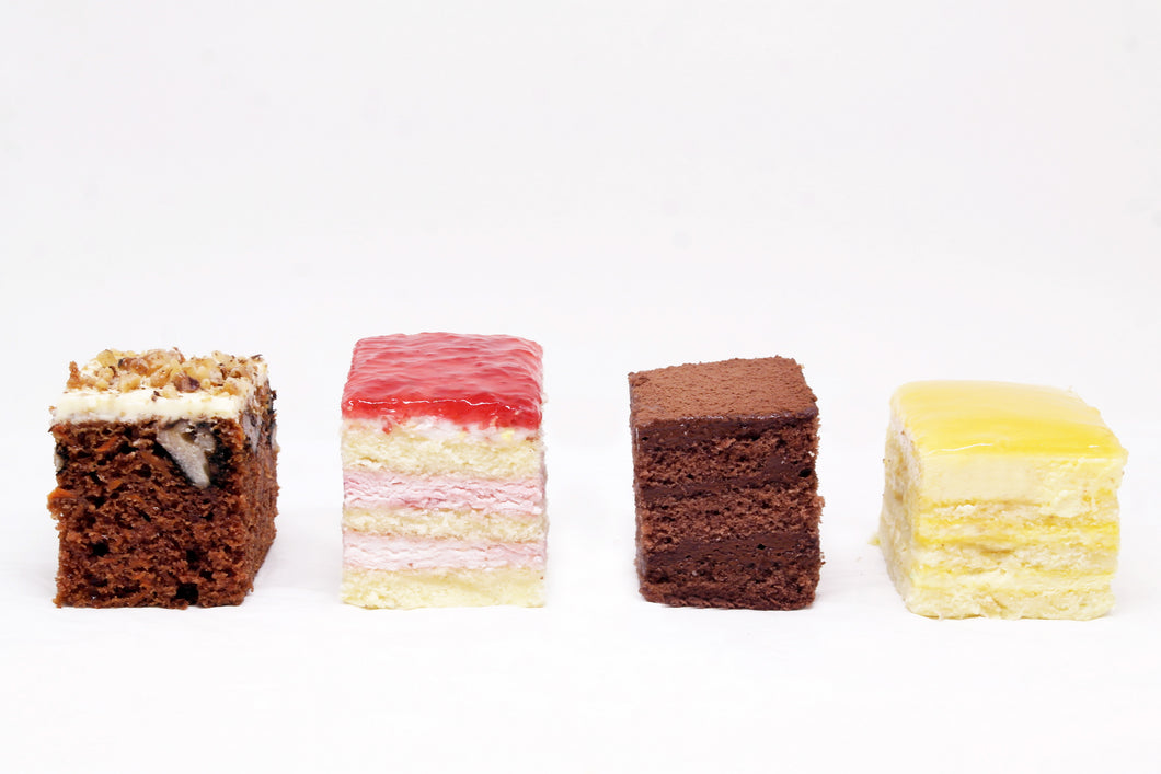 (SW45A) 20PC ASSORTED BEST-SELLING MINI CAKES (4CM BY 5CM)