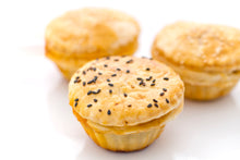 Load image into Gallery viewer, (SWC1) 12PC MINI CHICKEN PIES + 15PC MINI QUICHE