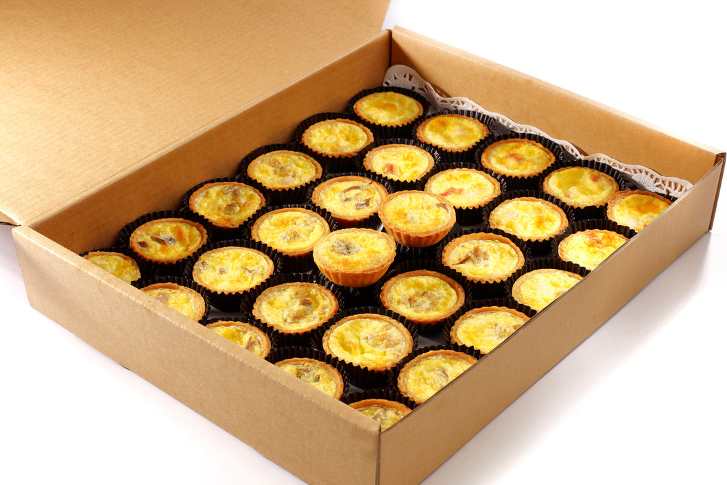 (SA06) 30PC MINI QUICHE