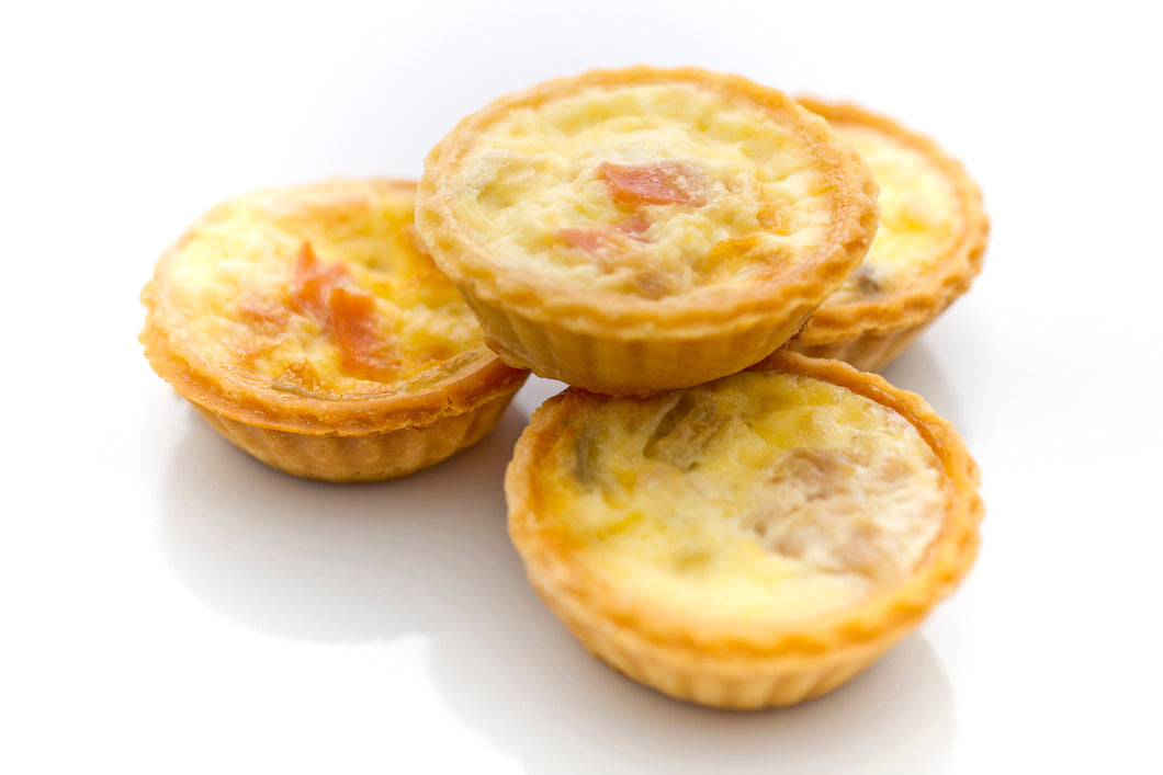 (SWC1) 12PC MINI CHICKEN PIES + 15PC MINI QUICHE