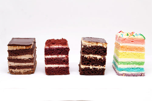 (SW47B) 20PC ASSORTED PREMIUM MINI CAKES (4CM BY 5CM)