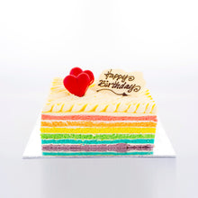Load image into Gallery viewer, Rainbow Cake