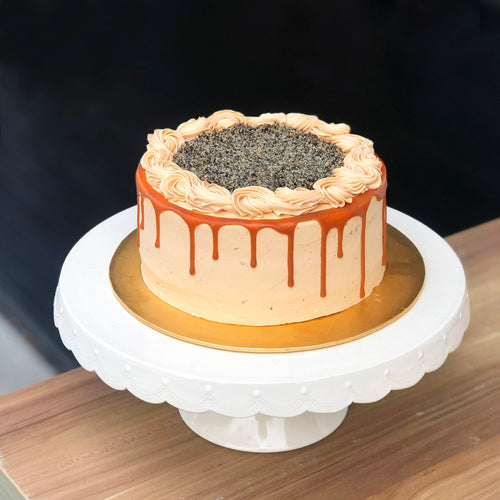 Thai Milk Tea Cake