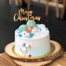 Load image into Gallery viewer, M31) White Christmas Cake (6 inch; for up to 8pax)
