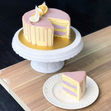 Load image into Gallery viewer, M-C4) Yuzu Lavender Cake + Topper