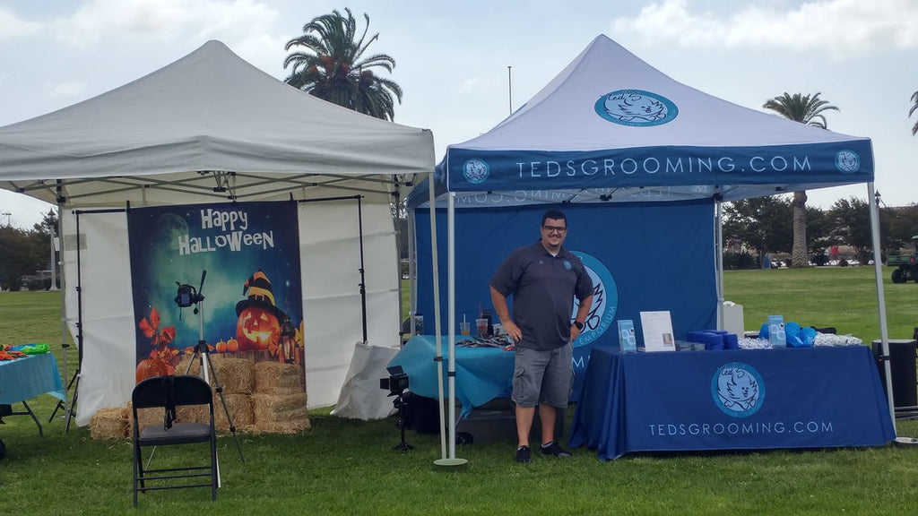 Ted's Grooming Tent and Mobile Photo Booth