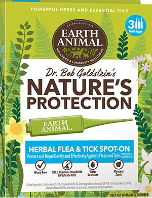 Earth Animal Nature's Protection Flea & Tick Spot-On