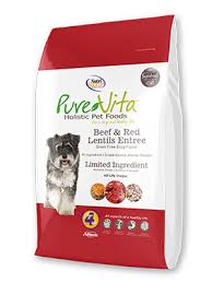 PureVita Dog Beef and Red Lentil