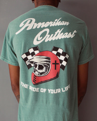Ride of your Life tee forest green