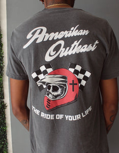 Ride of your Life tee grey