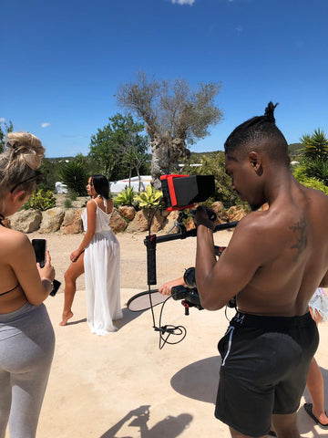 femme luxe behind the scenes ibiza