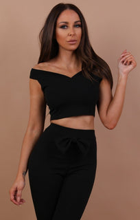 Black-bow-front-co-ord-set-tara