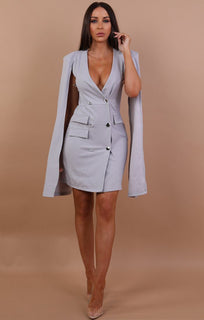 grey-Split-Sleeve-Blazer-Dress-abby