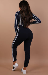 Navy-with-white-stripe-joggers-Francesca