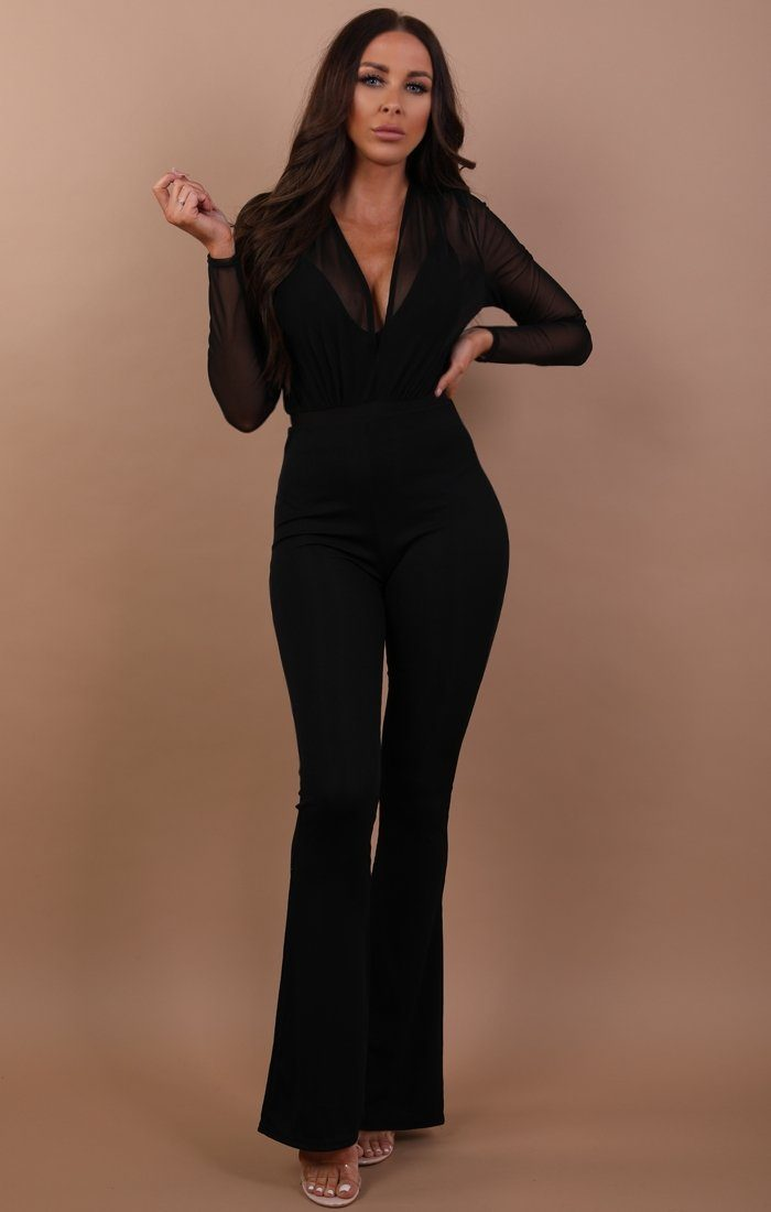 Black-mesh-v-neck-bodysuit-adeline (1)