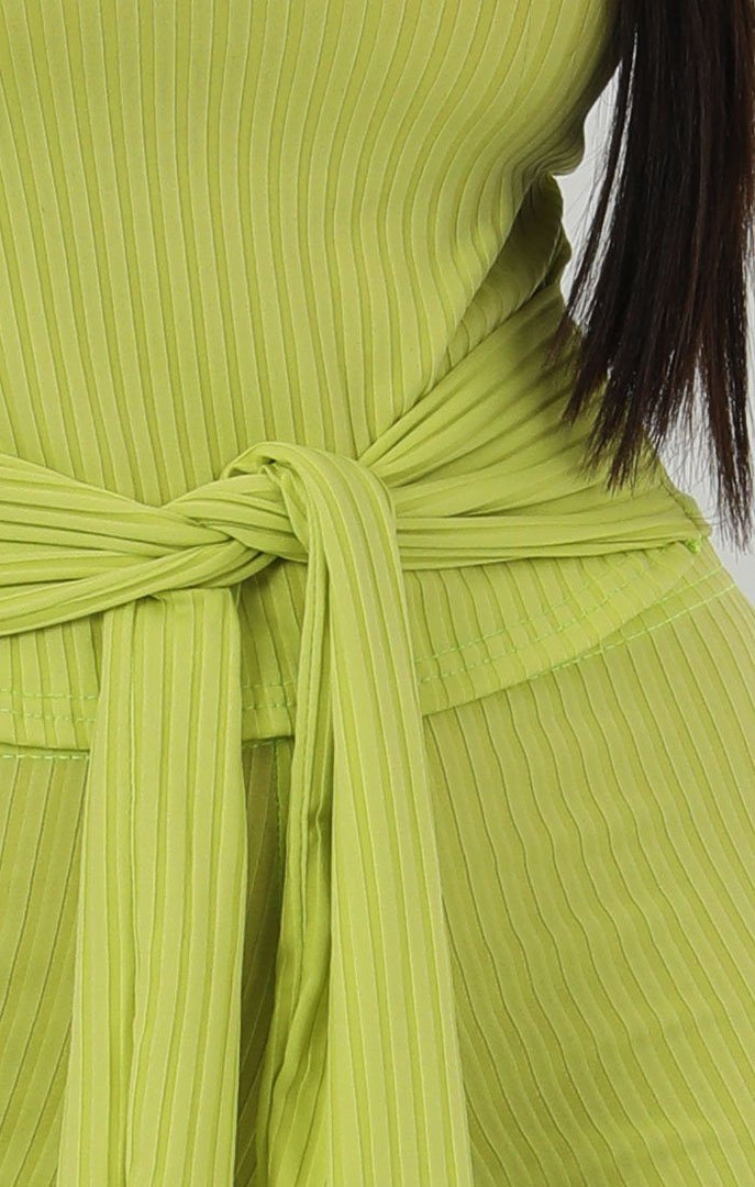 Lime-Ribbed-T-shirt-Tie-Flared-Jumpsuit-Billie