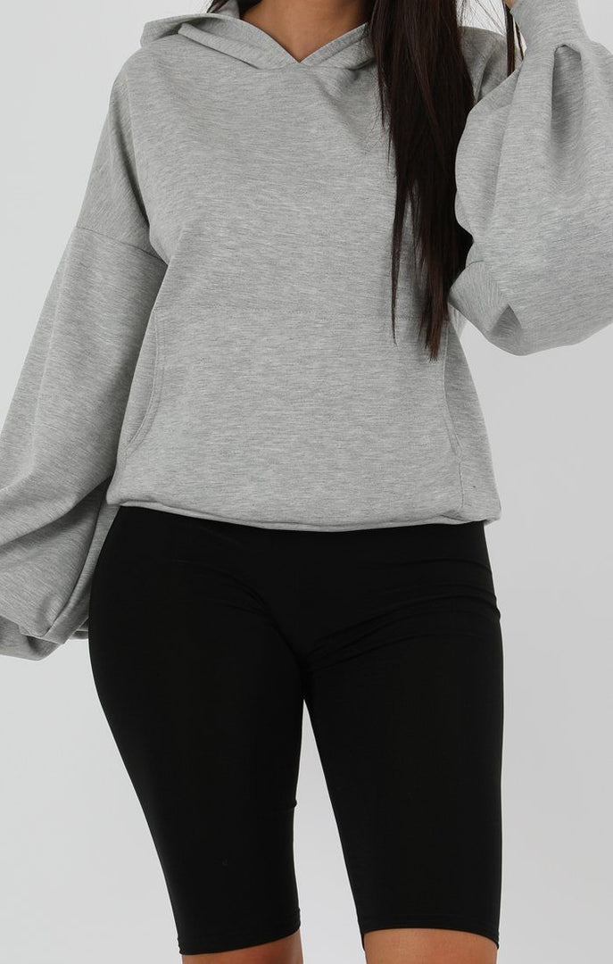 Grey-Flare-Cuff-Sleeve-Hooded-Jumper-Tracey