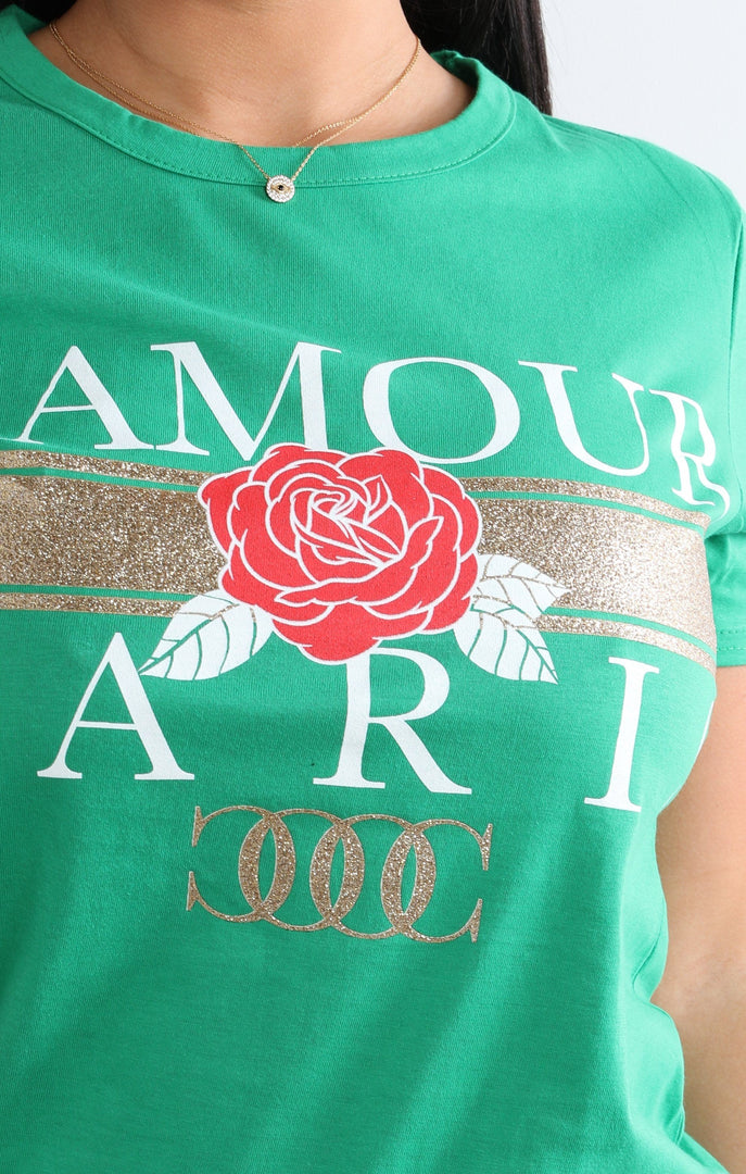 green-l'amour-paris-slogan-t-shirt-kiera