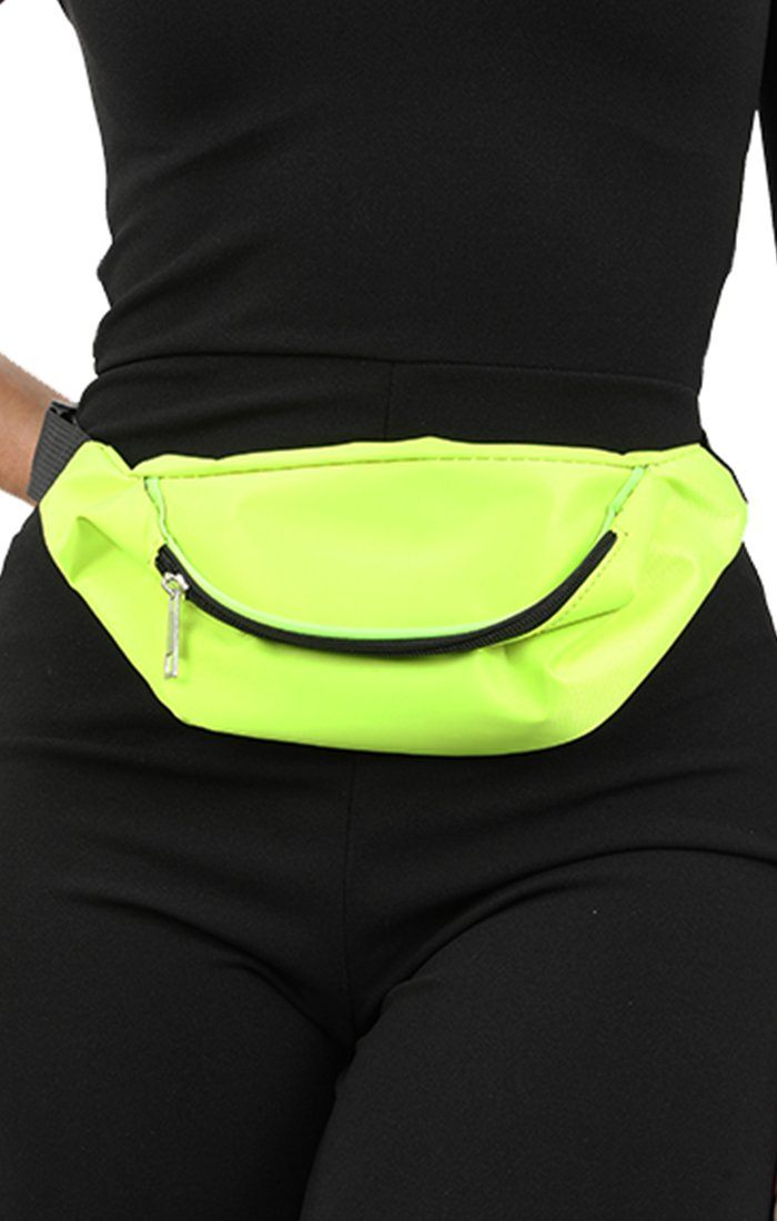 Neon Lime Bum Bag - Eden