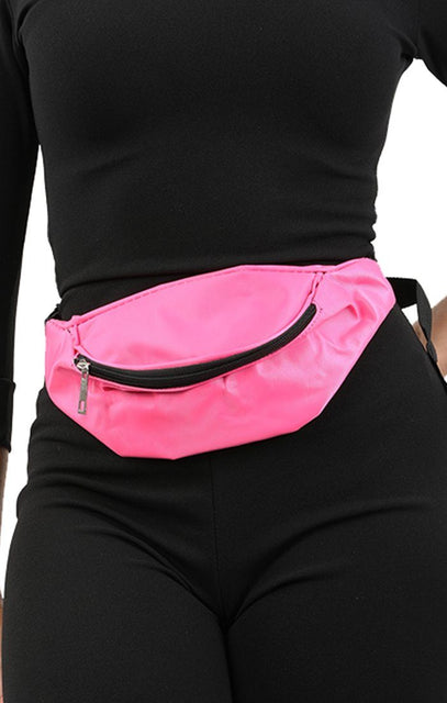 Neon Pink Bum Bag - Eden