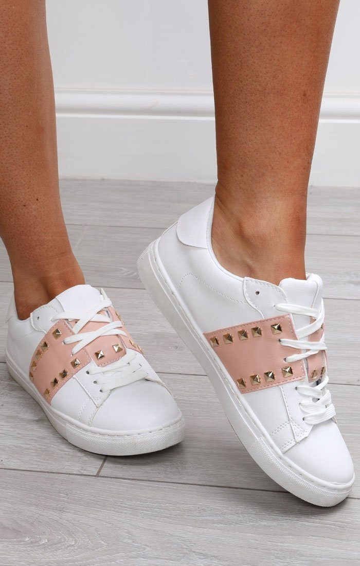 White-and-nude-studded-trainers-Avery